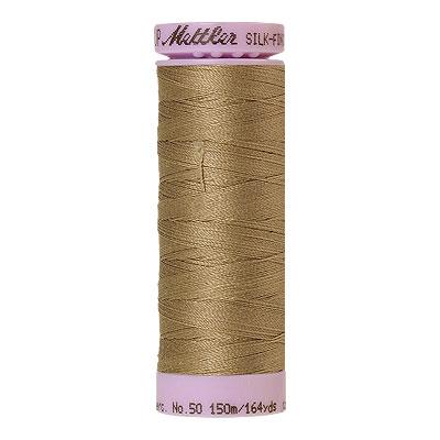 Gray - Mettler Silk Finish Cotton Thread - 164 yd - Putty