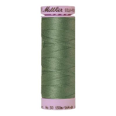 Green - Mettler Silk Finish Cotton Thread - 164 yd - Dried Sage