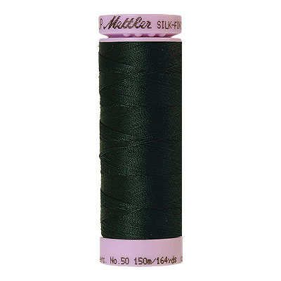 Green - Mettler Silk Finish Cotton Thread - 164 yd - China Teal
