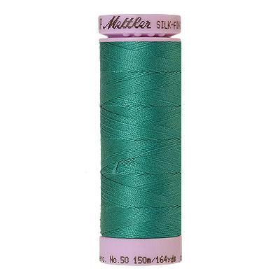 Turquoise -Mettler Silk Finish Cotton Thread - 164 yd - Jade