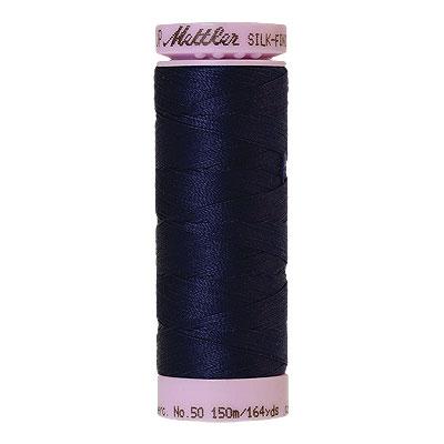Purple - Mettler Silk Finish Cotton Thread - 164 yd - Dk Purple