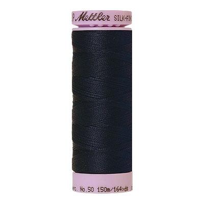 Mettler Silk Finish Cotton Thread - 164 yd - Deep Navy