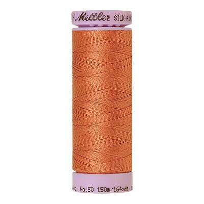 Peach - Mettler Silk Finish Cotton Thread - 164 yd - Peach