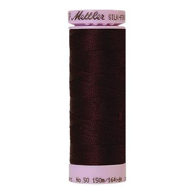 Burgundy - Mettler Silk Finish Cotton Thread - 164 yd - Wine
