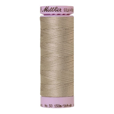Gray - Mettler Silk Finish Cotton Thread - 164 yd - Linen