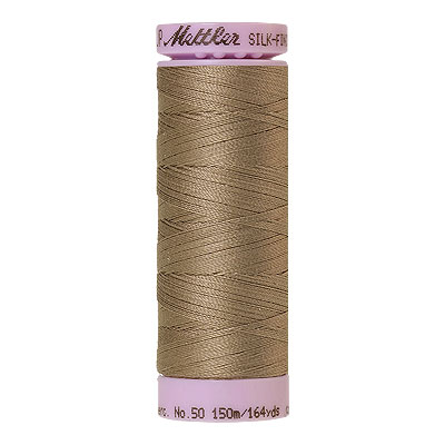 Natural - Mettler Silk Finish Cotton Thread - 164 yd - Dk Linen