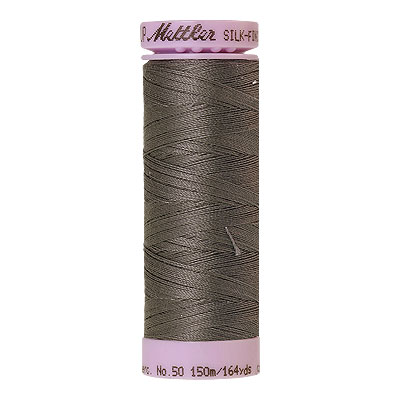 Gray - Mettler Silk Finish Cotton Thread - 164 yd - Ash Gray