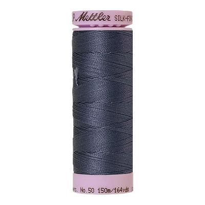 Blue - Mettler Silk Finish Cotton Thread - 164 yd - Dk Wedgewood