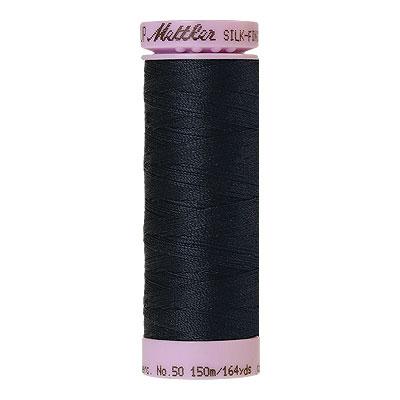 Mettler Silk Finish Cotton Thread - 164 yd - Cobalt Navy