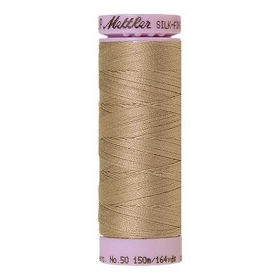 Beige - Mettler Silk Finish Cotton Thread - 164 yd - Md Beige