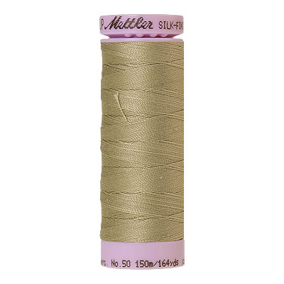Natural - Mettler Silk Finish Cotton Thread - 164 yd - Tan