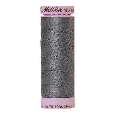 Gray - Mettler Silk Finish Cotton Thread - 164 yd - Slate Gray