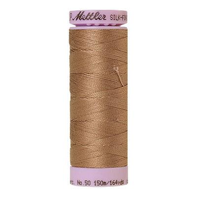 Beige - Mettler Silk Finish Cotton Thread - 164 yd - Dark Beige