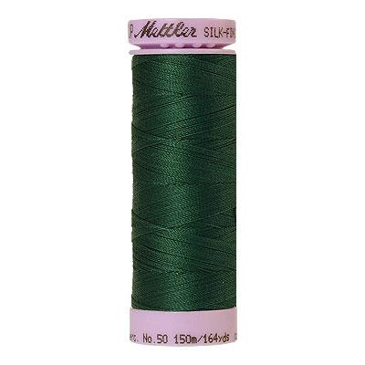 Green - Mettler Silk Finish Cotton Thread - 164 yd - Dark Green