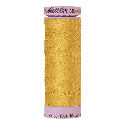 Yellow - Mettler Silk Finish Cotton Thread - 164 yd - Lt Yellow