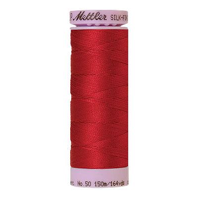 Red - Mettler Silk Finish Cotton Thread - 164 yd - Lt Raspberry