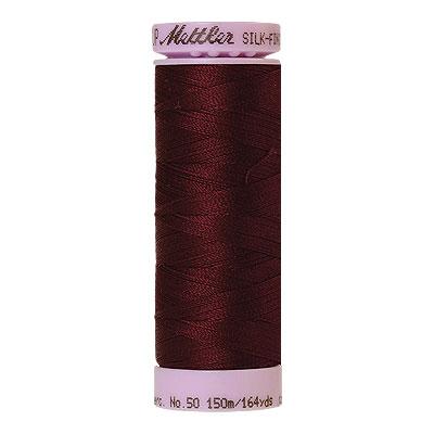 Burgundy - Mettler Silk Finish Cotton Thread - 164 yd - Garnet