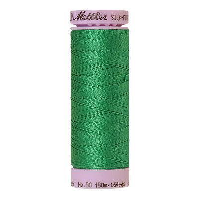 Green - Mettler Silk Finish Cotton Thread - 164 yd - Green