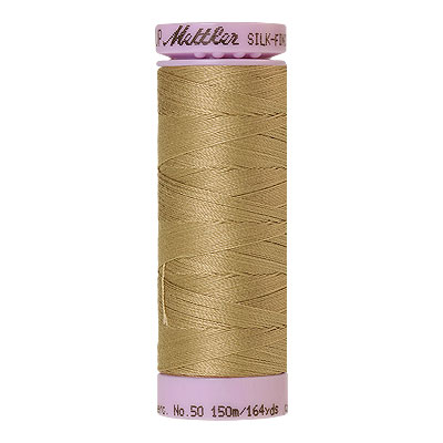 Natural - Mettler Silk Finish Cotton Thread - 164 yd - Stone