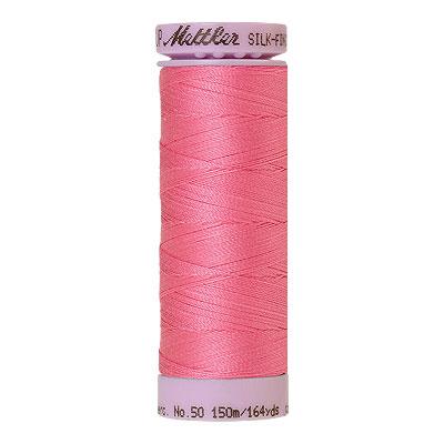 Pink - Mettler Silk Finish Cotton Thread - 164 yd - Medium Pink