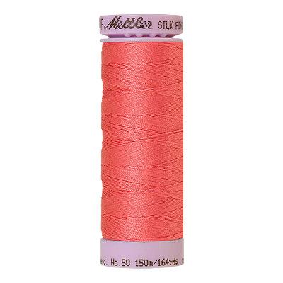 Pink - Mettler Silk Finish Cotton Thread - 164 yd - Dark Coral