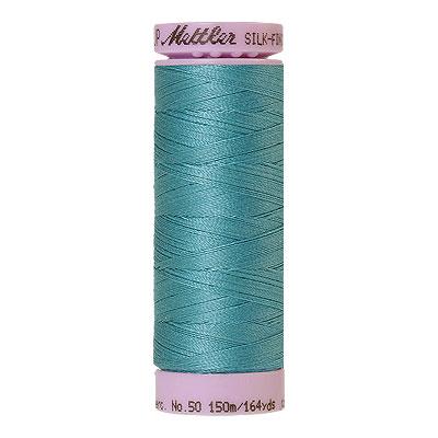 Mettler Silk Finish Cotton Thread - 164 yd - Blue Peacock