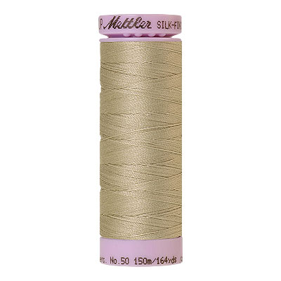 Natural - Mettler Silk Finish Cotton Thread - 164 yd - Lt Putty