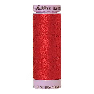 Red - Mettler Silk Finish Cotton Thread - 164 yd - China Red