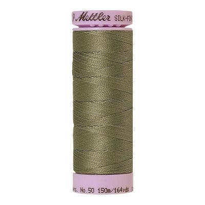 Green - Mettler Silk Finish Cotton Thread - 164 yd - Green Linen