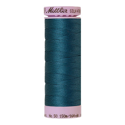 Aqua - Mettler Silk Finish Cotton Thread - 164 yd - Teal