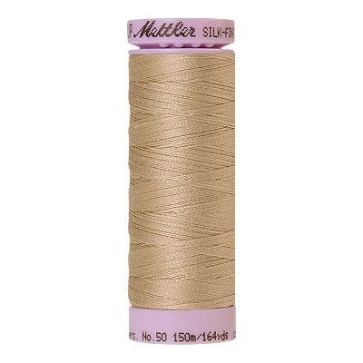 Beige - Mettler Silk Finish Cotton Thread - 164 yd - Beige