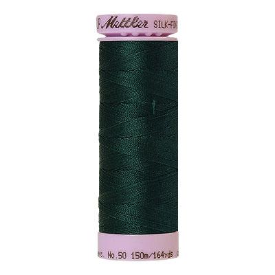 Green - Mettler Silk Finish Cotton Thread - 164 yd - Scots Green