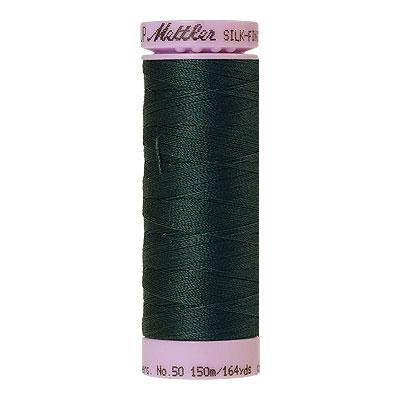 Green - Mettler Silk Finish Cotton Thread - 164 yd - Dk Teal