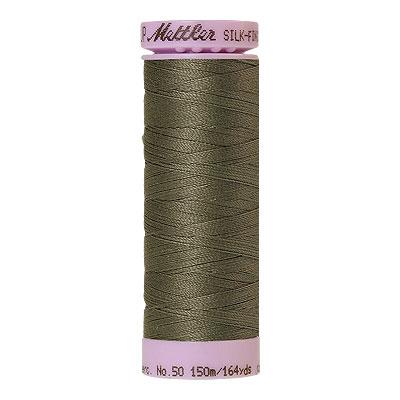 Mettler Silk Finish Cotton Thread - 164 yd - Khaki Grey