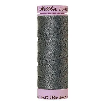 Blue - Mettler Silk Finish Cotton Thread - 164 yd - Storm