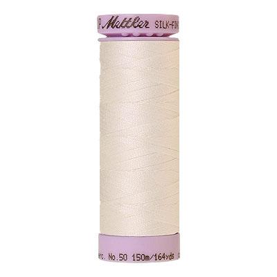 Basic - Mettler Silk Finish Cotton Thread - 164 yd- Winter White