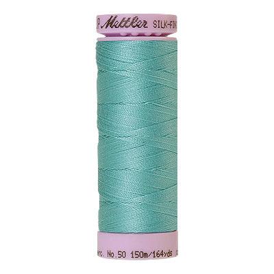 Aqua - Mettler Silk Finish Cotton Thread - 164 yd - Mist Aqua