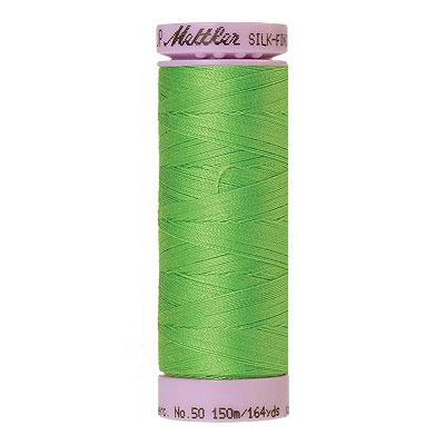 Green - Mettler Silk Finish Cotton Thread - 164 yd- Bright Green