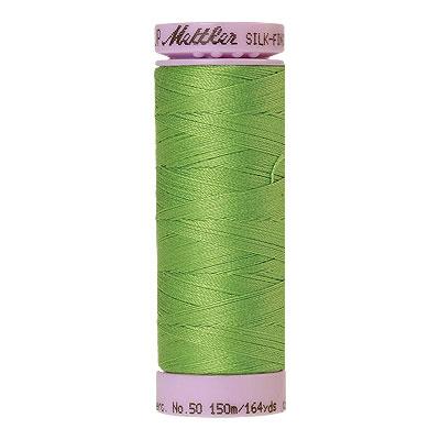 Green - Mettler Silk Finish Cotton Thread - 164 yd - Fresh Green