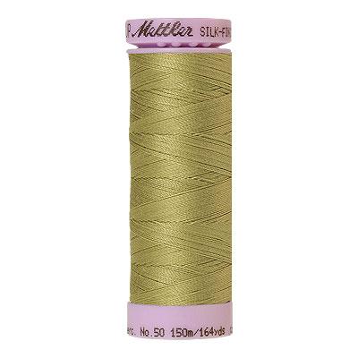 Green - Mettler Silk Finish Cotton Thread - 164 yd - Dk Key Lime