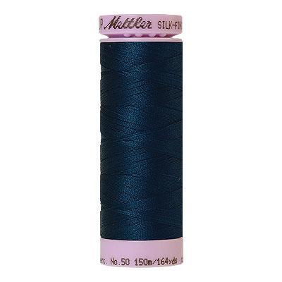Mettler Silk Finish Cotton Thread - 164 yd - Very Dark Blue Grey