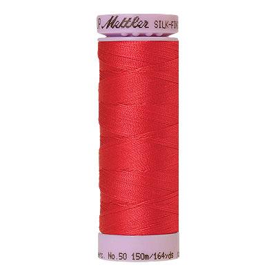 Red - Mettler Silk Finish Cotton Thread - 164 yd - Light Crimson