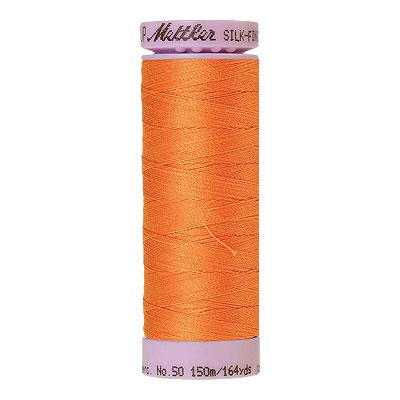 Orange - Mettler Silk Finish Cotton Thread - 164 yd - Harvest