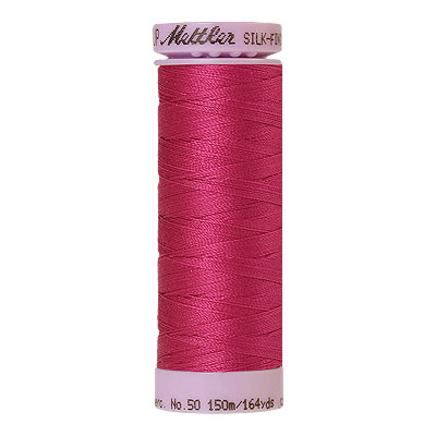 Pink - Mettler Silk Finish Cotton Thread - 164 yd - Rose Violet