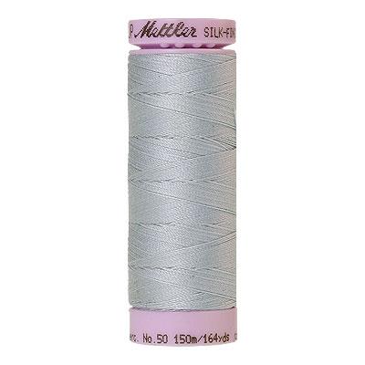 Blue - Mettler Silk Finish Cotton Thread - 164 yd - Lt Blue Gray