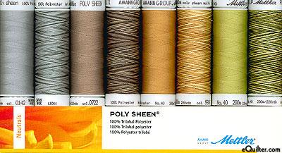 Mettler Poly Sheen Thread Set - Neutrals