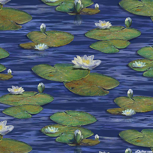 The Great Blue - Lily Lake - Steel Blue - DIGITAL