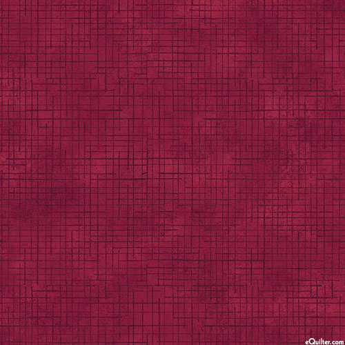 Make a Wish - Woven Texture - Wine