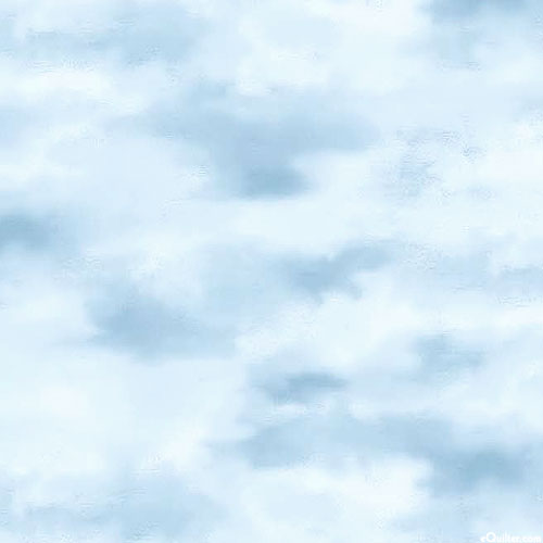 Naturescapes - Cloudy Skies - Misty Blue