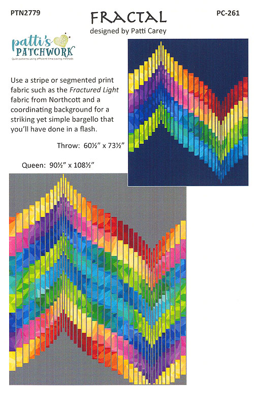 Fractal - Quilt Pattern by Patti Carey